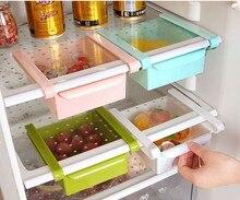 KITNEWER Organizer Storage Rack Shelf Holder Drawer Slide Kitchen Fridge Freezer Space Saver