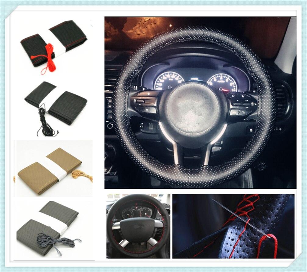 Car steering wheel cover / diameter 36cm 38cm 40cm for Ford C-MAX Flex B-MAX Atlas Territory Formula Vertrek