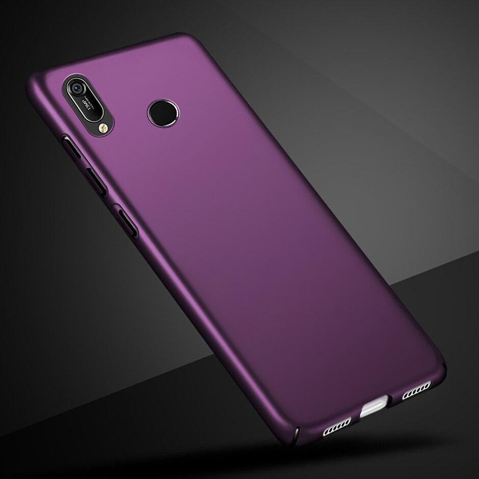Матовый чехол для Huawei Y6 2019 твердый пластиковый чехол на заднюю панель чехол для телефона Huawei Y6 Prime Pro 2019 Y 6 MRD-LX1 MRD-LX1F