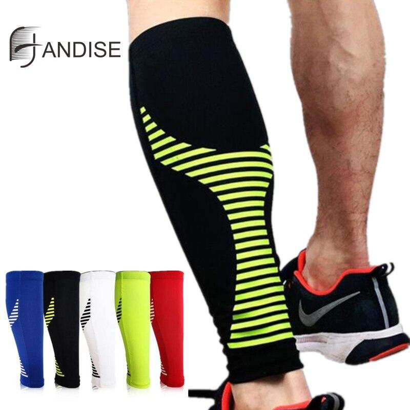 New Calf Compression Function Sleeve Running Sports Cycling Socks Leg Warmers Men Women Football Sock Protector Shin Guard 1PCS