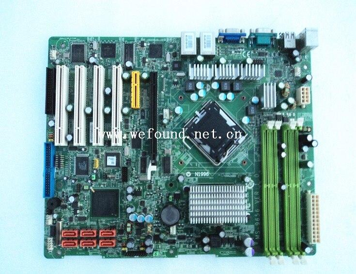 100% placa base del servidor de trabajo para MS-9656 totalmente probada