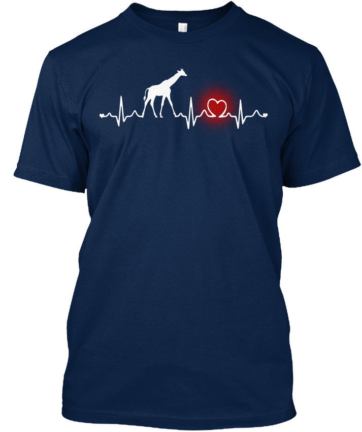 Verano de 2019 de moda de estilo jirafa corazón Stylisches camiseta Tee shirt