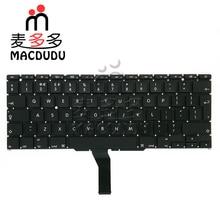 "Yeni FR Fransız Clavier Klavye Macbook Air 11 Için ""A1370 A1465"