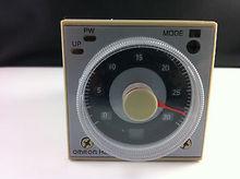 1 jeu de base + OMRON DC24V   Minuterie temporisée multifonctionnelle, relais, 8PIN 2NO 2NC DC24V