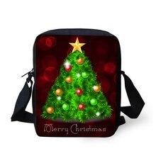 FORUDESIGNS 2019 nouveau sac à bandoulière sac de messager pour adolescent petit bandoulière sacs à main incroyable joyeux noël cadeaux