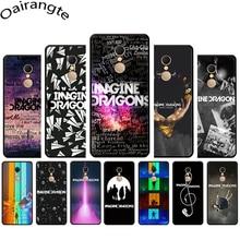 Imagine Dragons Muziek Afdrukken Soft Phone Cover Case Voor Redmi 4A 4X 5 6 5A 6A 7 Gaan Note 5 6 7 Pro