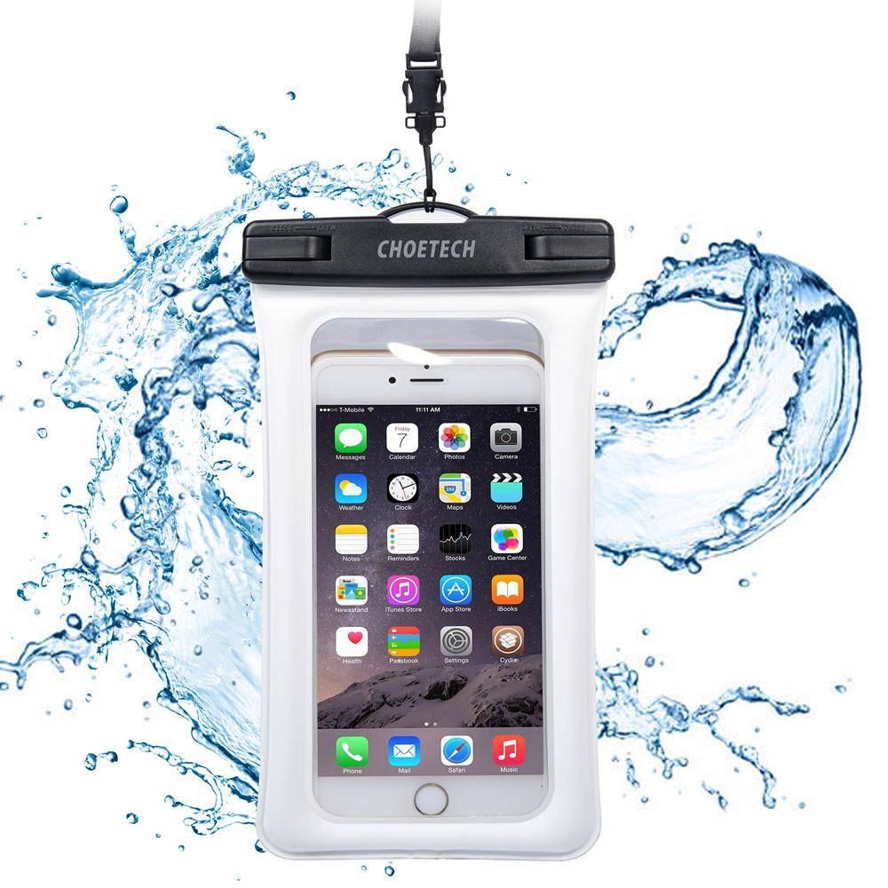 Choetech nadmuchiwane worki wodoodporne etui telefon komórkowy 30 m podwodne pralnia case pokrywa dla iphone 5 5s 6 6s plus/samsung/lg/xiaomi 2