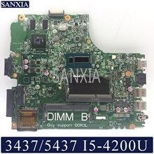 KEFU 12314-1 Placa base para Dell Inspiron 14R 3437 5437 placa base original de I5-4200U GT720M