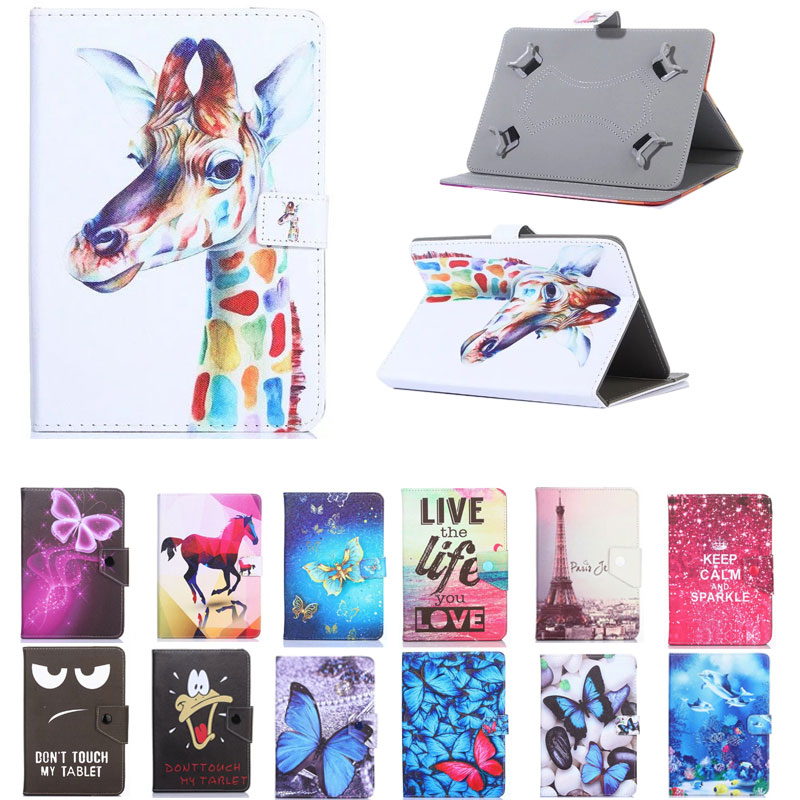 Funda de dibujos animados para Samsung Galaxy Tab S2 9,7 T810 T815 T813 T819 tableta de 9,7 pulgadas UNIVERSAL PU funda vertical de cuero para niños
