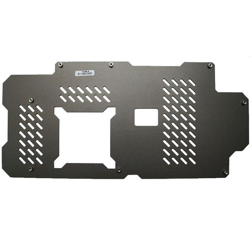 Original para ZOTAC GTX1070 GTX1070Ti GTX1080 gapnics tarjeta backplane con tornillos de montaje