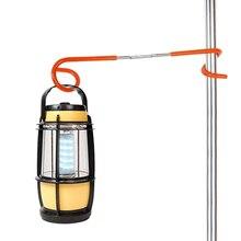Extérieur tente lumière crochet lanterne lumière lampe cintre tente poteau poteau crochets support Camping chasse pêche aide