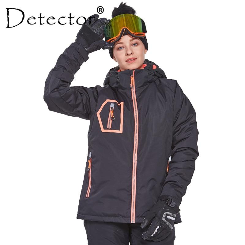 detector women s winter ski snowboard jacket waterproof windproof coat outdoor ski clothing women warm clothes Detector Women's Winter Outdoor Ski Snowboard Jacket Ski Clothing Women Waterproof Windproof Coat Warm Clothes