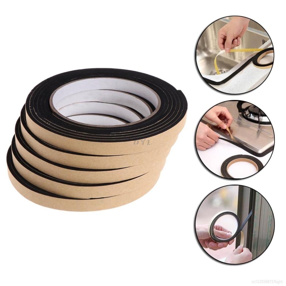 5Pcs 2M Gas Stove Gap Cooker Slit Antifouling Strip Seal Ring Tape Cooktop Parts Kitchen Tools