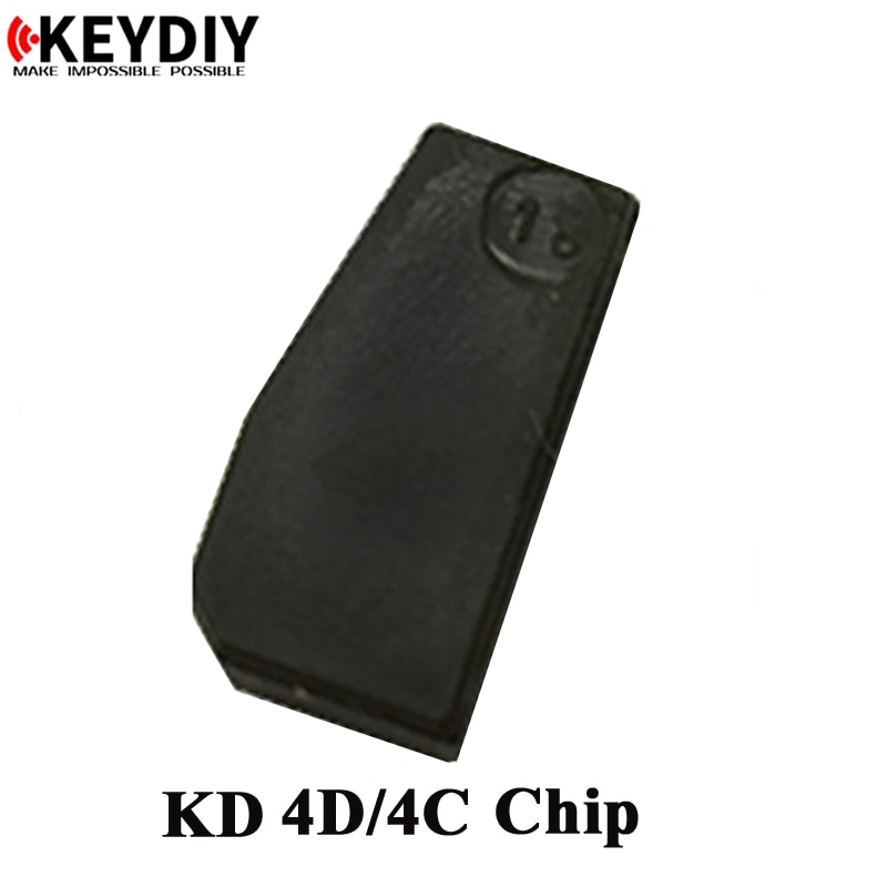 5 шт. Ключ DIY KD4D/4C Чип, KD 4C копия чип для KD X2, KD-X2 чип пустой, копия автомобиля ключ чип для KD-X2