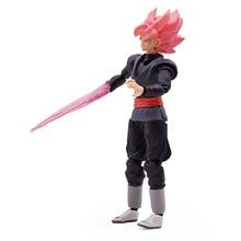15cm Dragon Ball Super Goku Black Zamasu PVC Action Figure Collection Model Kids Toy Doll Free Shipping