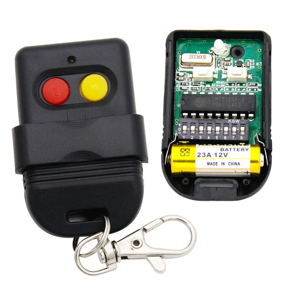 SMC5326P-3 interruptor 8dip 330mhz 433 mhz controle remoto para porta portão garzie SMC5326-P 330 433 mhz abridor de controle remoto