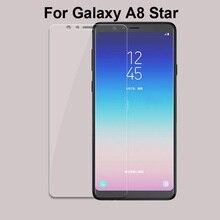Verre trempé pour Samsung Galaxy A8 Star SM-G8850 Film protecteur décran verre pour Galaxy A 8 étoiles couvercle de Protection en verre dur