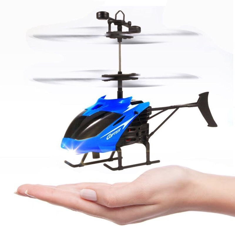 Mini RC drone Flying RC Helicopter Aircraft drone Infrared Induction LED Light Remote Control drone
