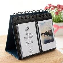 BALLE Instax   Mini Album Photo, 68 pochettes, calendrier de bureau, pour Fuji Instant Mini 8 9 70 50s, Polaroid Z2300, Film pour