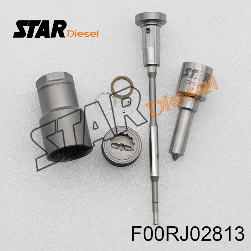 Overhaul Kits F00RJ02813 boquilla DSLA158P974 (0 433, 175, 275) válvula F 00R J02 005 para 0 445 120 008 Infiniti Isuzu partes automóvil diésel