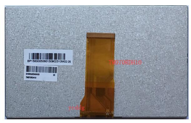 Original Tianma 7 pulgadas 50pin de alto brillo HD pantalla LCD TM070RDH10/11/13