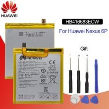 Original Battery For HUAWEI NEXUS 6P HB416683ECW 3450mAh For Huawei Nexus 6P H1511 H1512 Replacement Phone Battery with 9 Tools