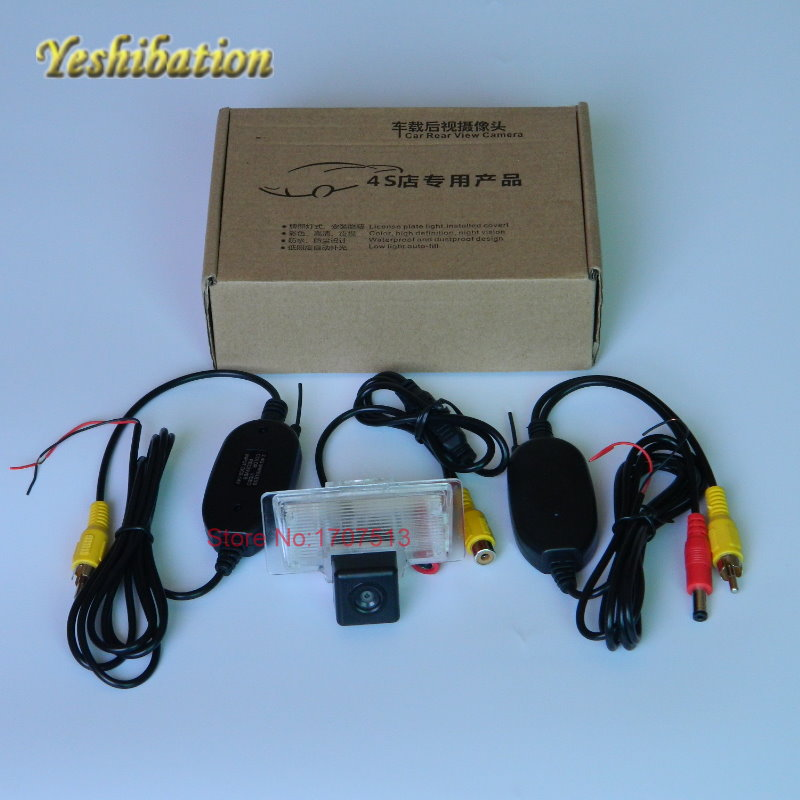 Yeshibation Wireless Car Parking Camera HD CCD Night Vision For Nissan Maxima A34 A35 / Teana L33 J31 J32 Back Up Reverse Camera
