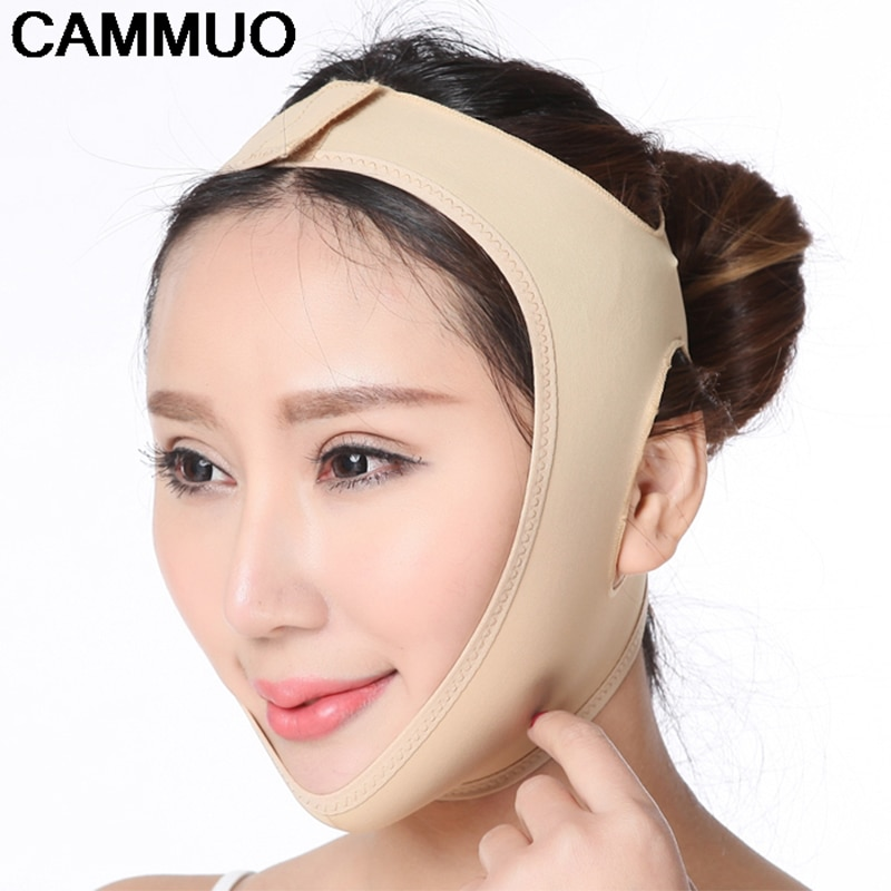 Banda masajeadora adelgazante para cara y rostro, forma de correa para realce, adelgazamiento y reducción de mentón y rostro doble, gran oferta de masaje