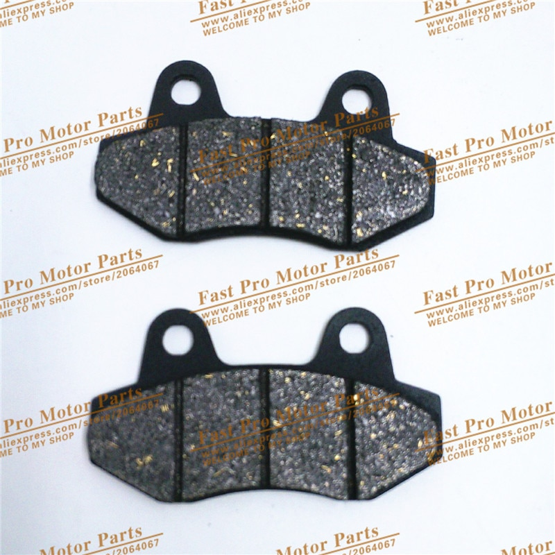Pastillas de freno de disco 2 pc/pair aptas para Pit Pro GPX Kayo BSE IRBIS 110cc a 250cc piezas de sistema de freno de Pit Bike