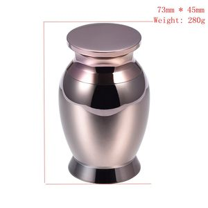 High Quality Adult Funeral Jewellery Cremation Mini Jar Stainless Steel Cremation Urn - Pet/Human Ashes Keepsake Mini Urn Casket