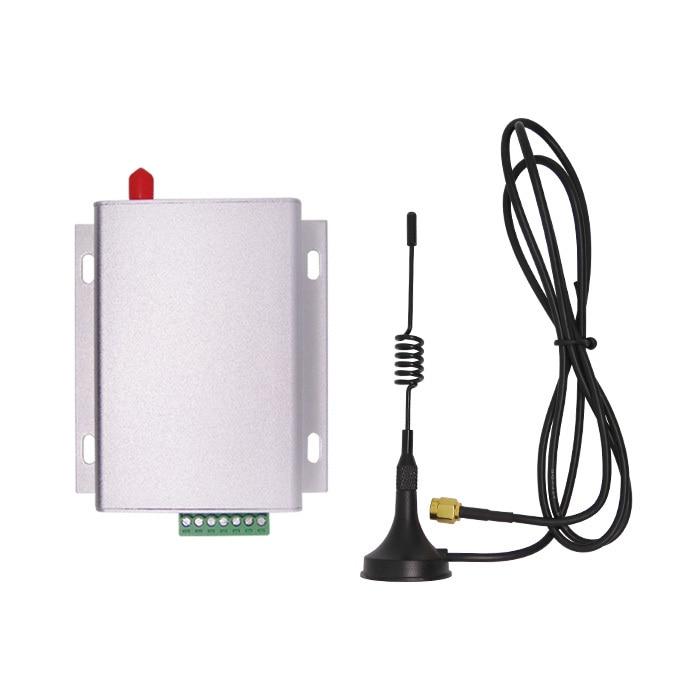 2 set/lote 8km ultra Larga Distancia 433MHz transmisor y receptor RF módulo kit (dv6500 + Antena de ventosa + tablero de puente usb)