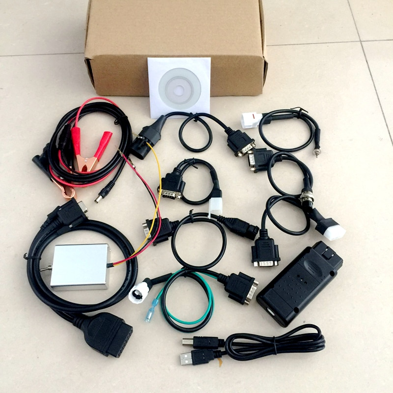 Universal 7 in1 PC motorcycle scanner forYamaha,SYM,KYMCO,S-UZUKI,HTF,PGO RTM 7-1 Motorbike diagnostic tooltool