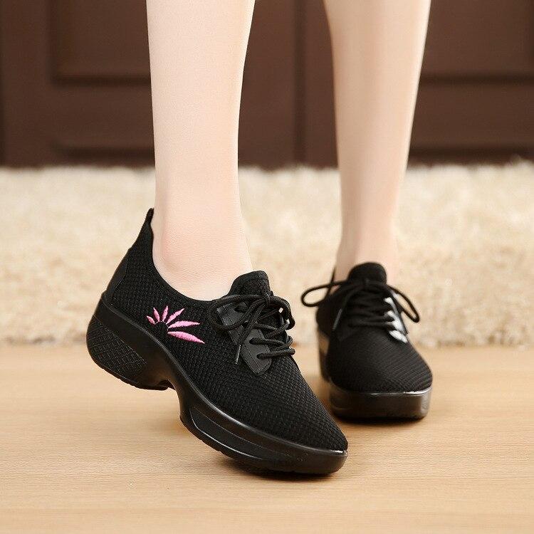 Zapatos de aire para mujer, deportes profesionales, Fitness, gimnasia, zapatos de baile para señora, compra de grupo, zapatos de fondo blando, zapatillas para mujer