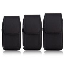 THINKTHENDO Phone Pouch Hanging Waist Storage Bag Fanny Pack Black Classic Belt Clip Pouch Case For iPhone Waist Bag