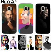 MaiYaCa Citation Inspirante Steve Jobs Mode Étui De Téléphone Pour Samsung S9 S9 plus S5 S6 S6edge S6plus S7 S7edge S8 S8plus