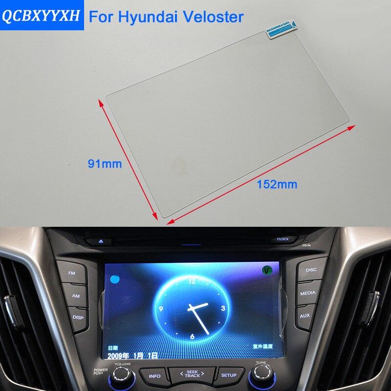 QCBXYYXH para Hyundai ioniq estilo de coche para pantalla de navegación GPS protector de vidrio película de pantalla de salpicadero película protectora
