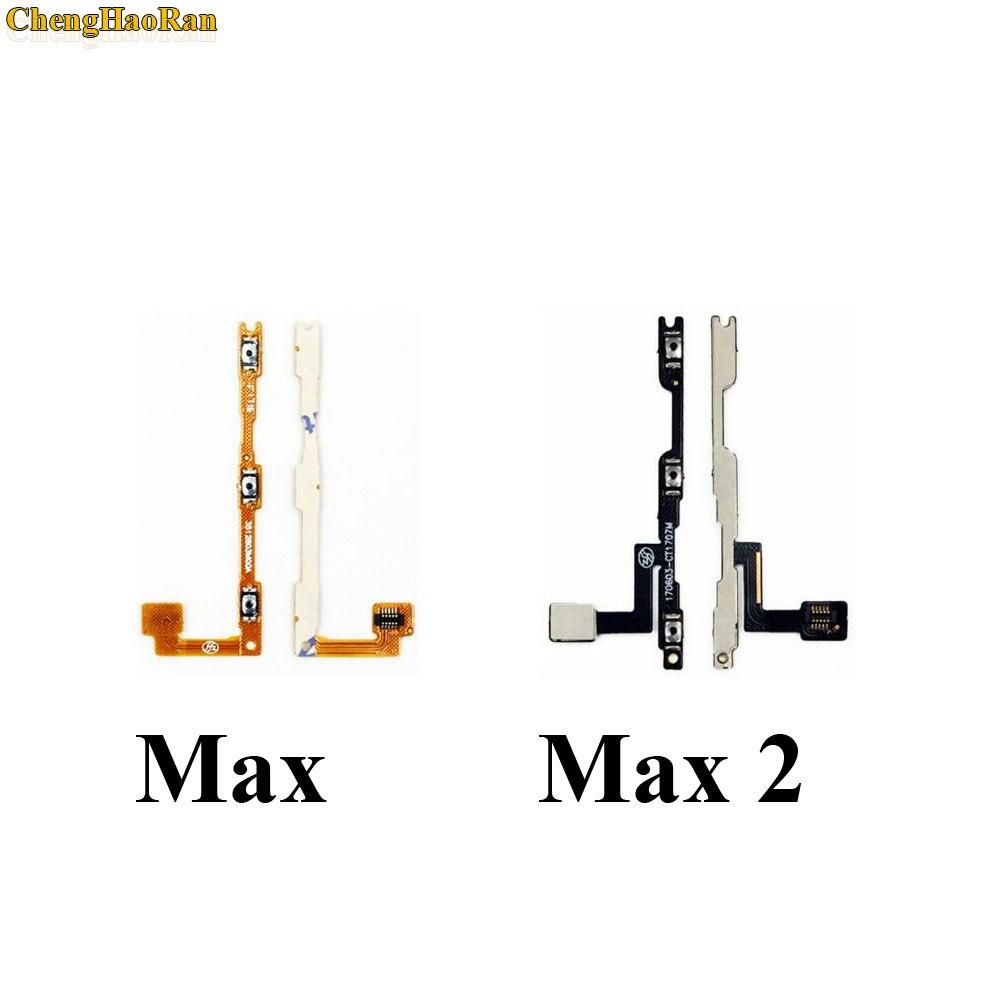 ChengHaoRan Neue Power-Taste Auf/Off Volume Stumm Schalter Taste Flex Kabel Für Xiao mi mi Max 2 Max2 reparatur teile ersatz
