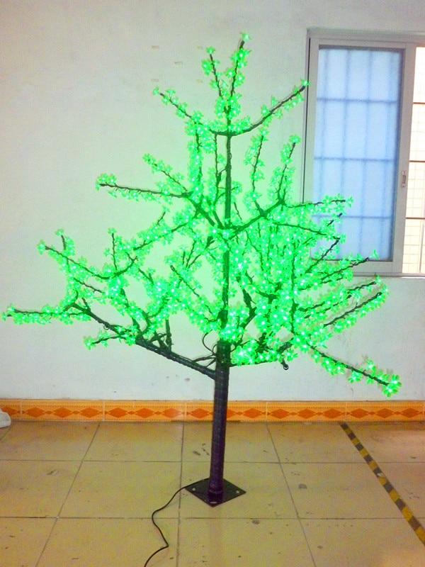 Бесплатная доставка 1024 светодиодов 6 футов 1 8 метров Вишневое дерево свет сад