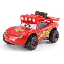 cars Disney Pixar Car 3 Car No. 95 Cyclone McQueen Family Mater Jackson Storm Ramirez 1:55 Die Cast Metal Alloy Model Toy Car 2