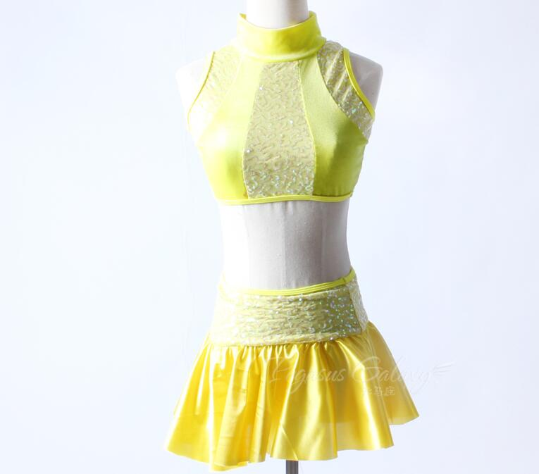 Balet tutu ballet danse costume ballet costumes femme ballet body ballerines femme vestido bailarina jaune lyrique robe