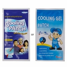 5Pc Baby Kids Medical Grade Hydrogel Fever Reducing Pain Relief Cooling Patch Baby Heat Cooling Shee