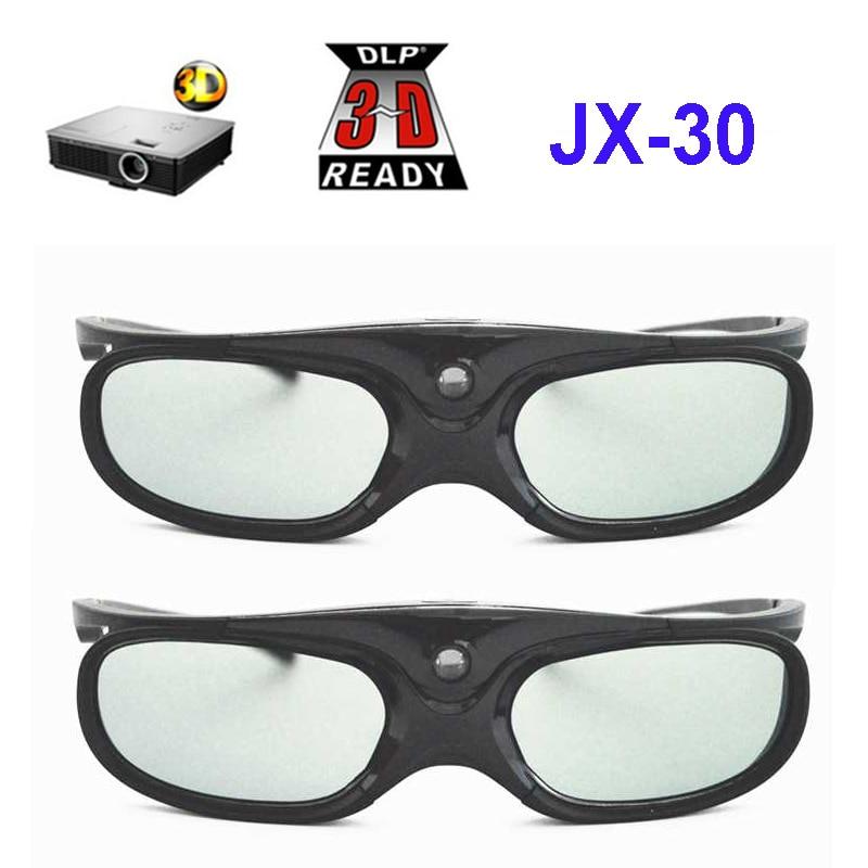 Активный затвор перезаряжаемые 3D очки Поддержка 96 Гц/120 Гц/144 Гц для Xgimi Z3/Z4/H1/H2 гаек G1/P2 BenQ Acer & DLP LINK проектор
