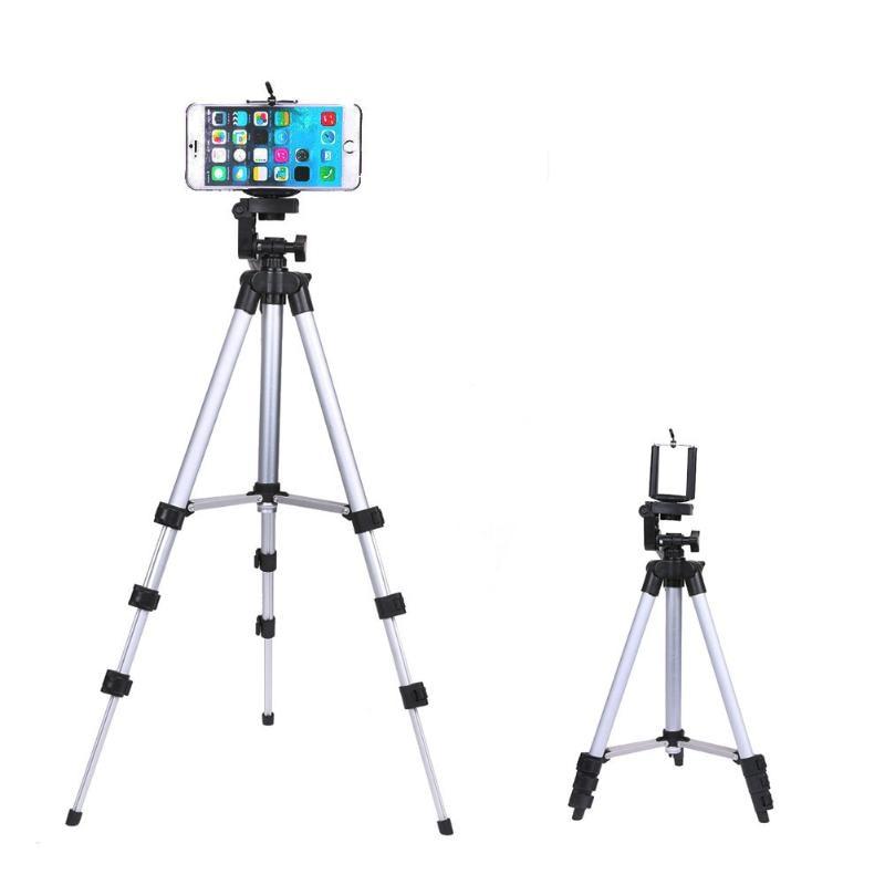 Trípode portátil profesional para cámara soporte Digital tabla para Cámara PC teléfono móvil Smartphone soporte trípode