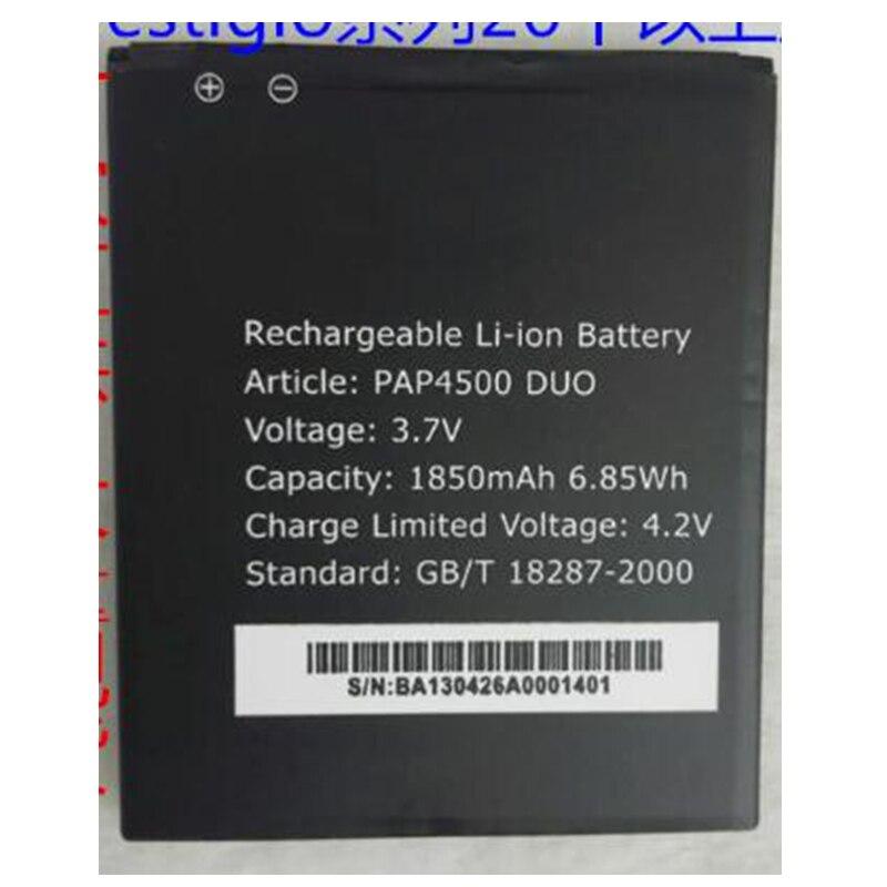 ¡Venta urgente! ¡venta limitada! ¡venta al por menor de 1850 mAh PAP4500 DUO! nueva batería de repuesto para Prestigo Mobile de alta calidad