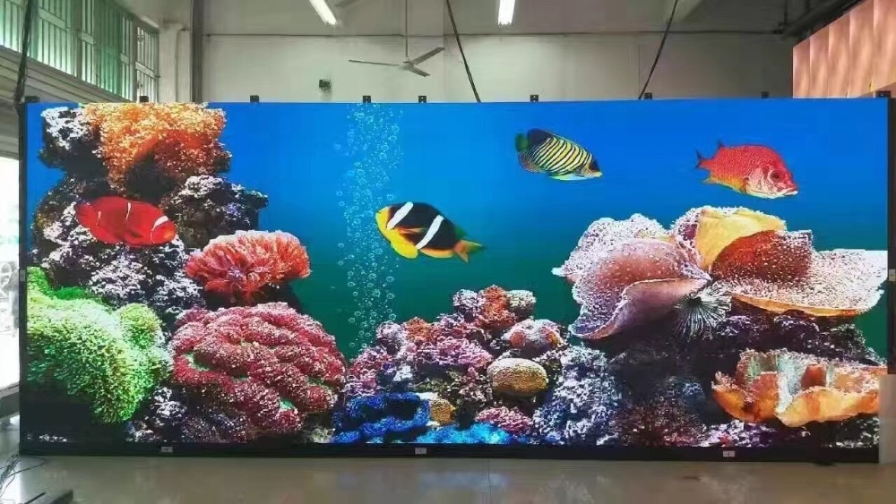 fine quality p2 5 indoor smd full color led module 1 32 scan 160x160mm 64x64 pixels hd video screen wall P2 128*128mm 64*64 pixels 1/32 Scan Indoor SMD1515 RGB full color P2 LED module for indoor LED display screen LED panels