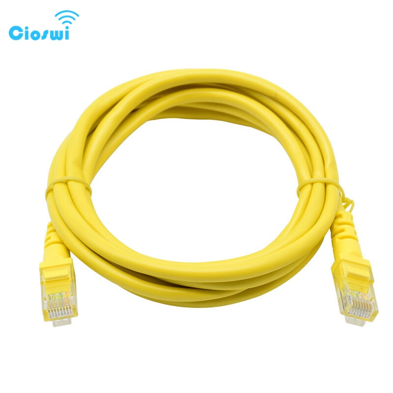 Cioshi-Cable Ethernet Gigabit CAT.5E UTP de alta velocidad, Internet Lan, 1M, Cable...