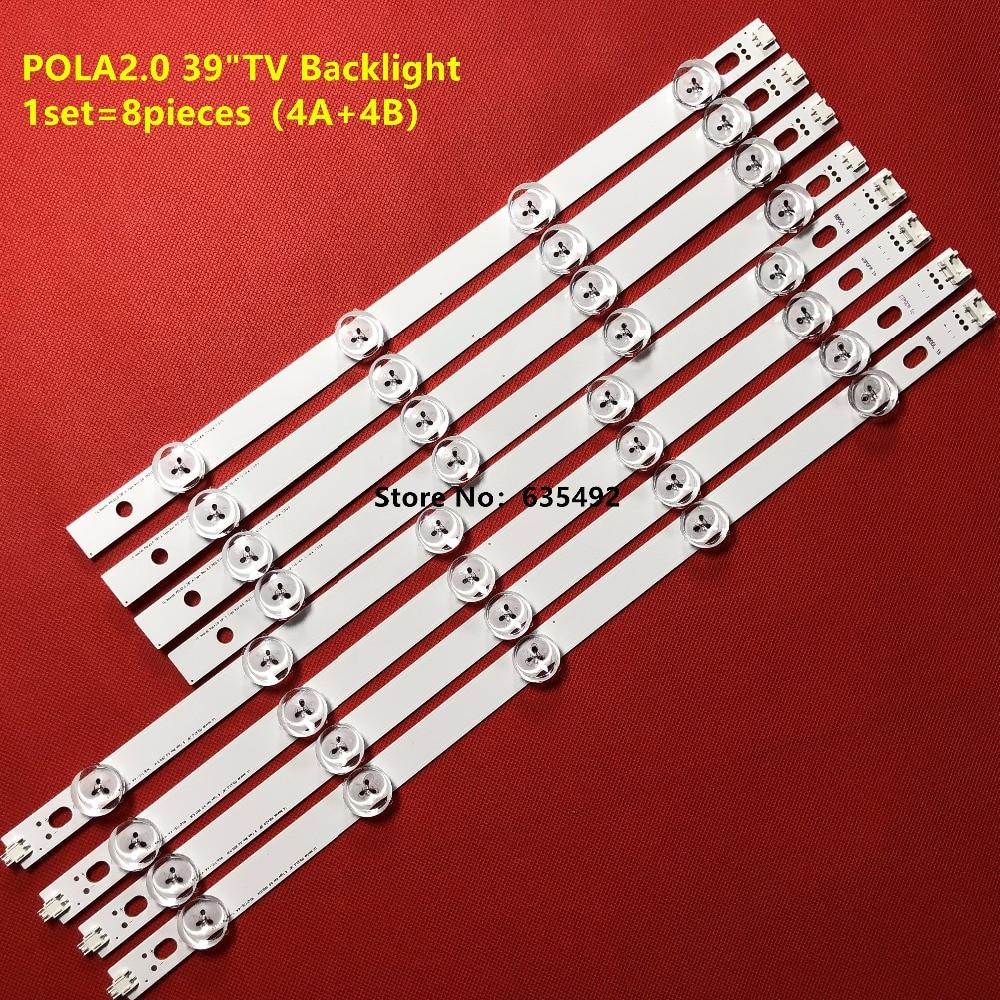 20 компл. Светодиодный панель подсветки для ТВ HC390DUN-VCFP1-21X 39LN540V 39LN570V 39LA620S 39LN5400 39LA6200 LG innotek POLA2.0 39
