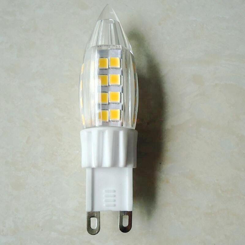 Mini G9 E14 LED Corn Light SMD 2835 Bulb Spotlight For Chandelier Replace 30W 50W Halogen Lamp 51LEDs AC220V