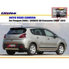 Задний вид автомобиля Камера для Peugeot 3008 2010 2012 2014 5D кроссовер Резервное копирование Парковка CAM автомобиля авто аксессуары
