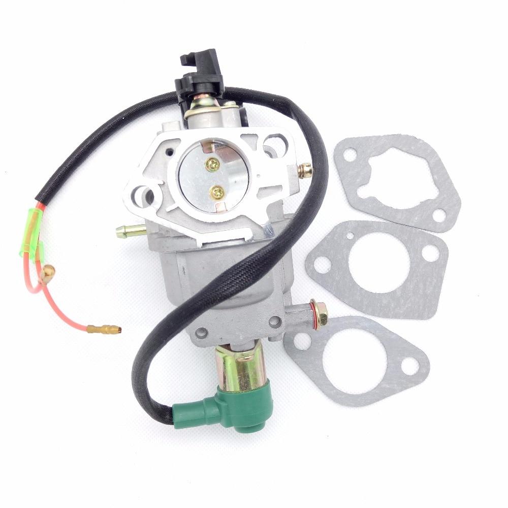 Nuevo HUAYI P27 P27-1 P27-2 motor de Gas carburador de generador de la Asamblea de tipo Manual